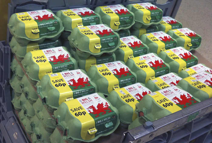 Big And Welsh Eggs For Tesco