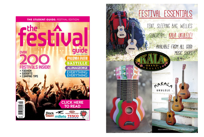 The Student Festival Guide - Kala Ukuleles