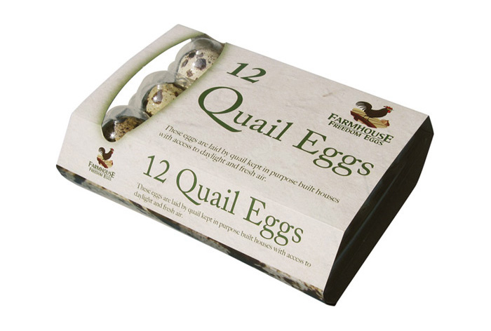 Quail Egg Pack Design