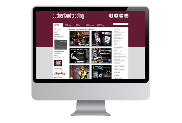 Sutherland Website Rebrand