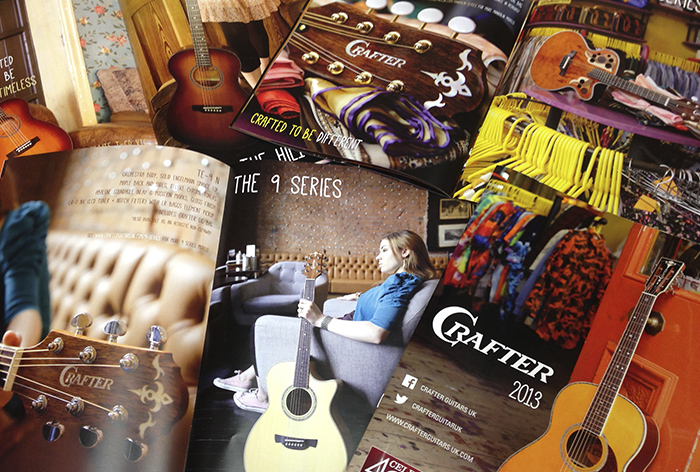 Crafter Guitar Promotional Booklets