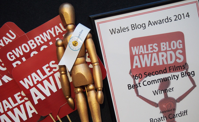 Wales Blog Awards 2014 - Oscar