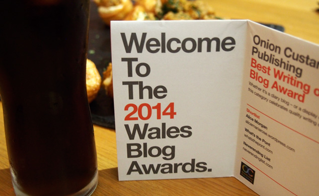 Wales Blog Awards 2014 - Welcome