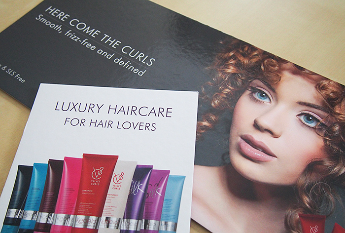 Luxury Haircare Strut Cards And Banners