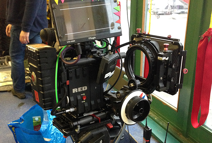 Red Dragon Camera For Digital Video Recording