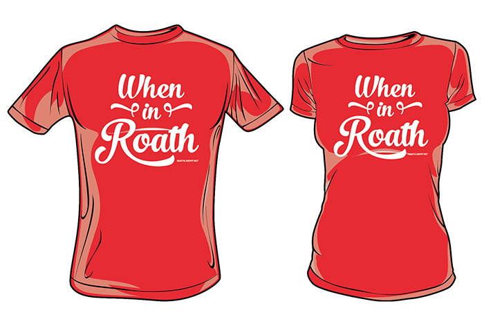 Roath Cardiff T-Shirt For When In Roath