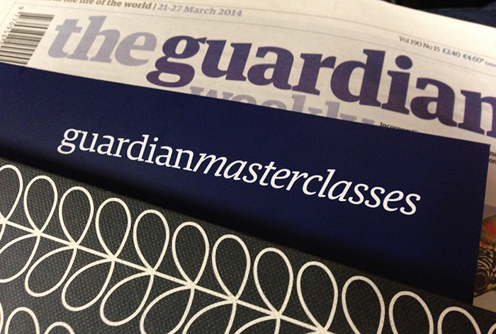 The Guardian Masterclass In Journalism