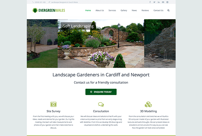 EvergreenWales 2016 Home Page